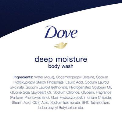 Dove Body Wash Deep Moisture