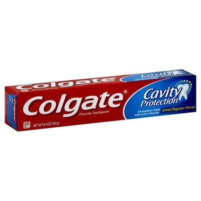 Colgate Cavity Protection Toothpaste, Anticavity Fluoride, Great Regular Flavor