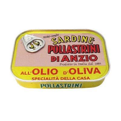 Pollastrini Wild Caught Sardines In Olive Oil