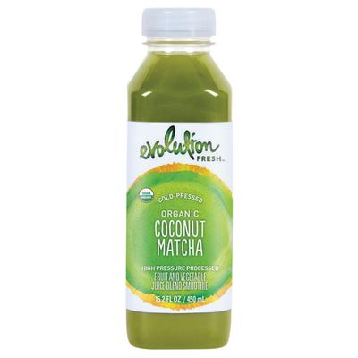 Evolution Fresh Organic Coconut Matcha Fruit and Vegetable Juice Blend Smoothie
