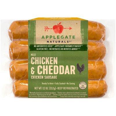 Applegate Natural Mild Chicken & Cheddar Chicken Sausage