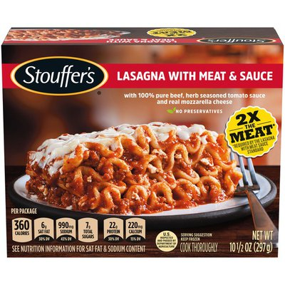 Stouffer's Lasagna with Meat & Sauce Frozen Meal