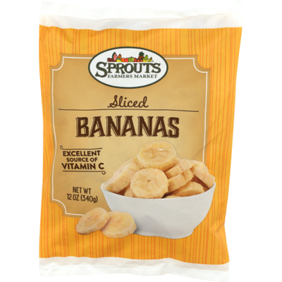 Sprouts Sliced Bananas