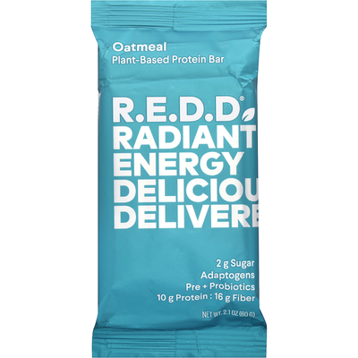 Redd Protein Bar, Plant-Based, Chocolate