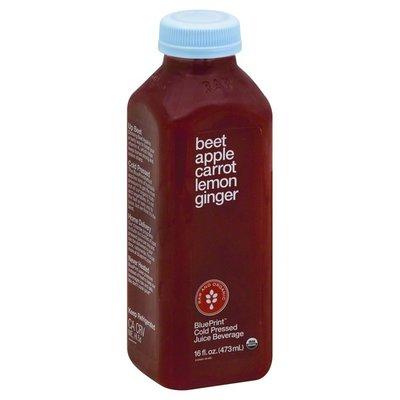 Blueprint Juice Beet, Apple, Carrot, Lemon, Ginger, Bottle