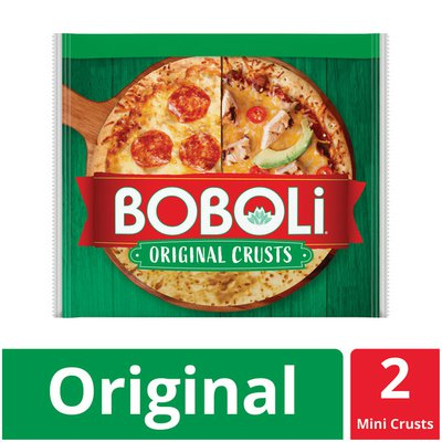 Boboli 8 Inch Twin Pack Pizza Crust