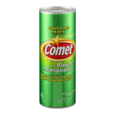 Comet Cleanser, Scratch Free, with Bleach