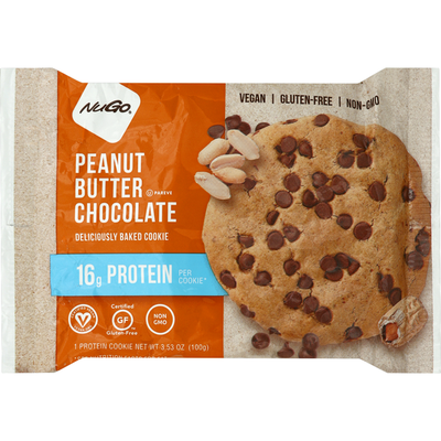NuGo Protein Cookie, Peanut Butter Chocolate
