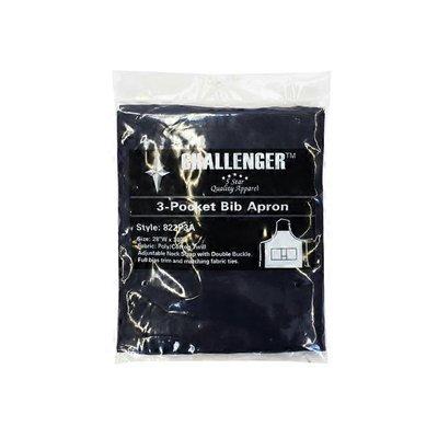 "Challenger 3 Pocket Navy Apron 28"" x 30"""