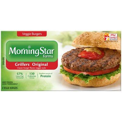 Morning Star Farms Grillers Original Veggie Burgers