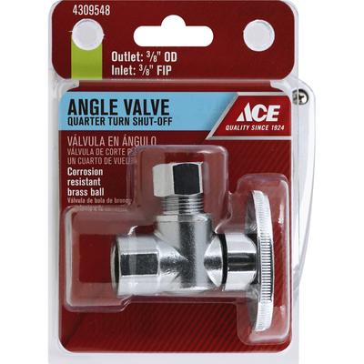 Ace Angle Valve, Quarter Turn Shut-Off