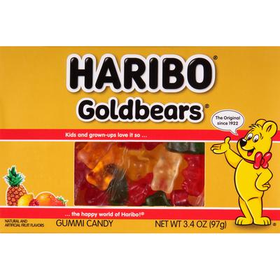 HARIBO Gummi Candy, Goldbears