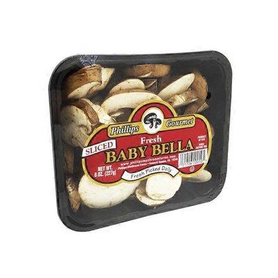Philips Gourmet Sliced Baby Bella Mushrooms