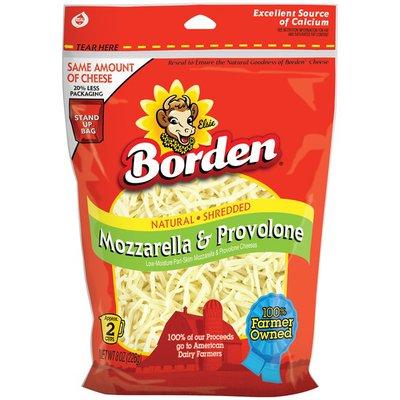 Borden Shredded Mozzarella & Provolone Cheese