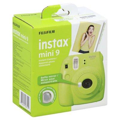 Fujifilm Instant Camera, Mini 9, Lime Green