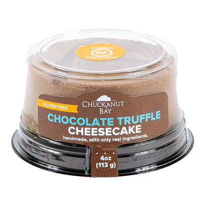Chuckanut Bay Foods Gluten-Free Chocolate Truffle Mini Cheesecake