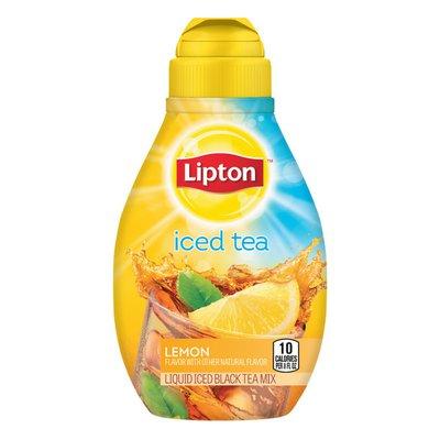 Lipton Liquid Iced Tea Mix Lemon