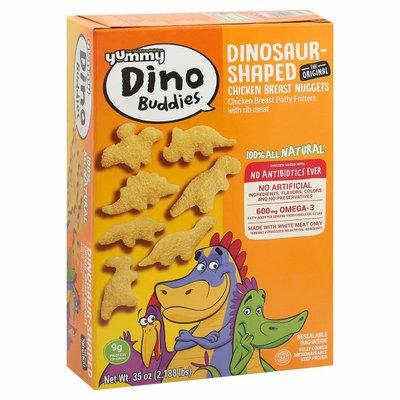 Yummy Chicken Breast Nuggets, Dinosaur-Shaped