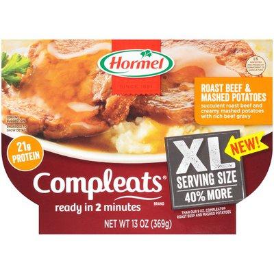 Hormel Roast Beef & Mashed Potatoes