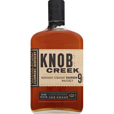 Knob Creek Whiskey, Bourbon, Kentucky Straight