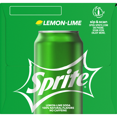 Sprite Lemon-Lime Fridge Pack Soda