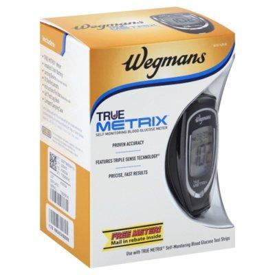 Wegmans Blood Glucose Meter, True Metrix