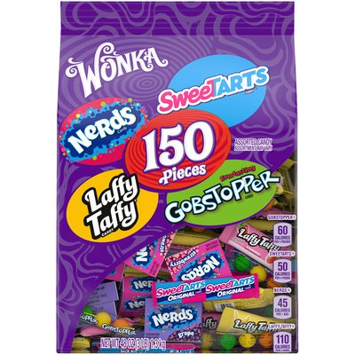 Wonka Assorted Candy