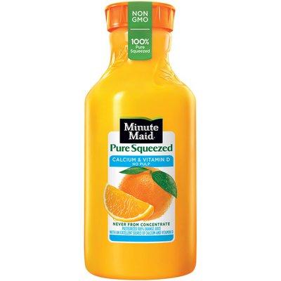 Minute Maid Pure Squeezed Calcium & Vitamin D No Pulp Orange Juice