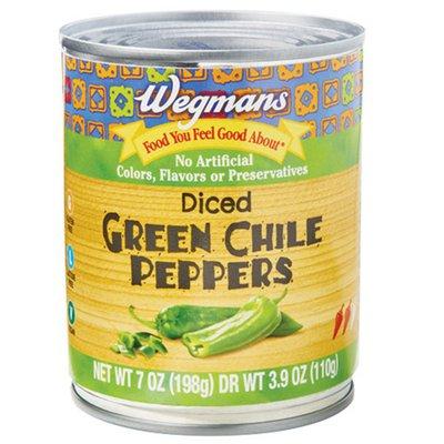 Wegmans Diced Green Chile Peppers