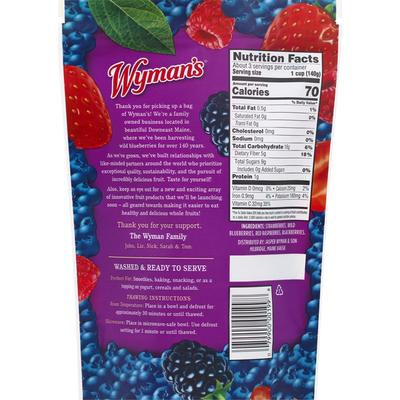 Wyman's Fresh Frozen Mixed Berries Frozen Fruit