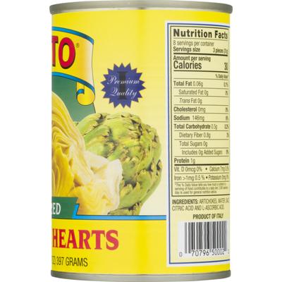 Cento Quartered Artichoke Hearts