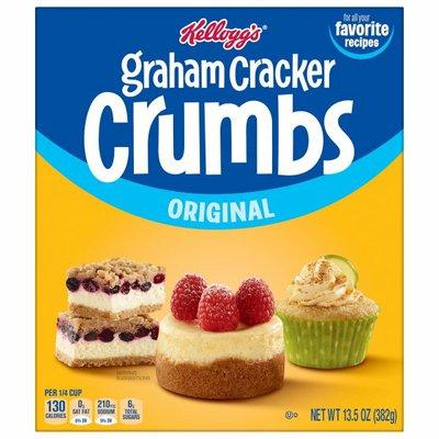 Kellogg's Graham Cracker Crumbs, Original, Delicious in Dessert
