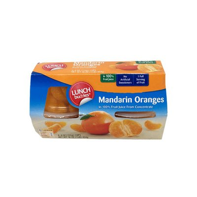 Lunch Buddies Mandarin Oranges in Juice Bowls
