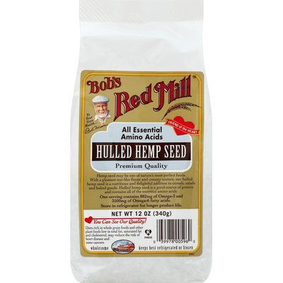 Bob's Red Mill Hemp Seed, Hulled