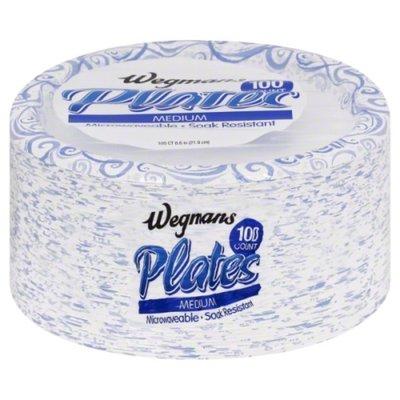 Wegmans Plates, Medium, 8.6 Inch