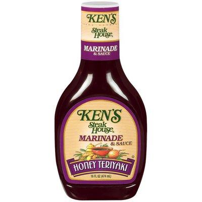 Ken's Steak House Honey Teriyaki Marinade & Sauce