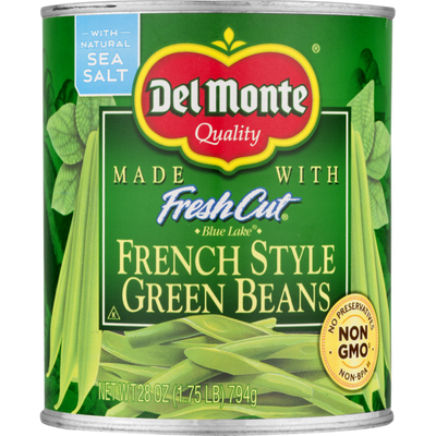 Del Monte Fresh Cut French Style Green Beans