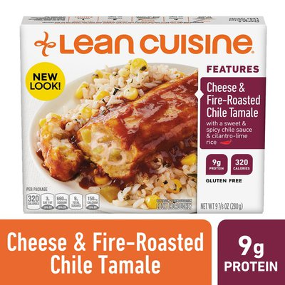 Lean Cuisine Cheese & Fire-Roasted Chile Tamale