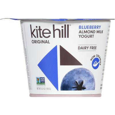 Kite Hill Almond Milk Yogurt, Dairy Free, Blueberry