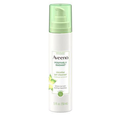 Aveeno Positively Radiant Micellar Gel Cleanser