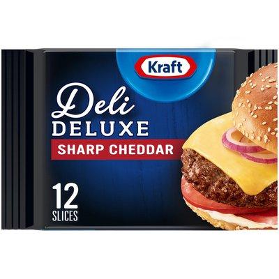 Kraft Sharp Cheddar Cheese Slices