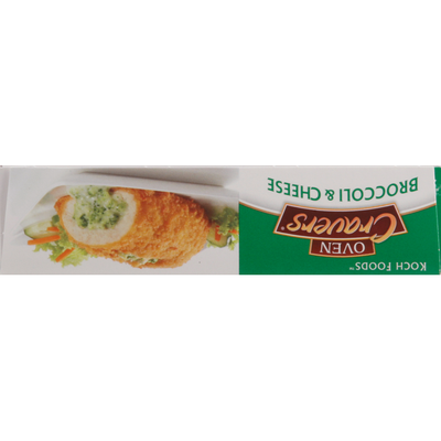 Koch Foods Chicken Breast with Rib Meat, Broccoli & Cheese, Oven