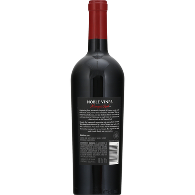 Noble Vines Marquis Red, Red Blend, California, 2018