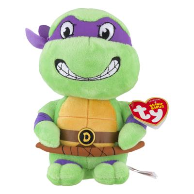 ty Beanie Babies Nickelodeon Teenage Mutant Ninja Turtles Donatello