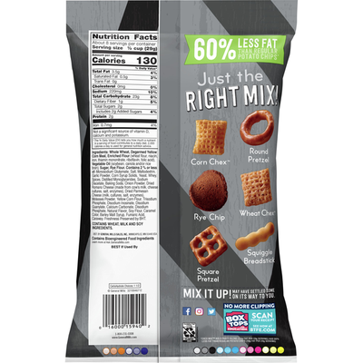 Chex Mix Bold Party Blend Savory Snack Mix