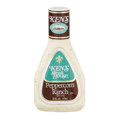 Ken's Steak House Dressing, Peppercorn Ranch