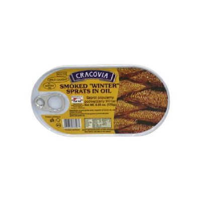 Cracovia Smoked Sprats In Oil