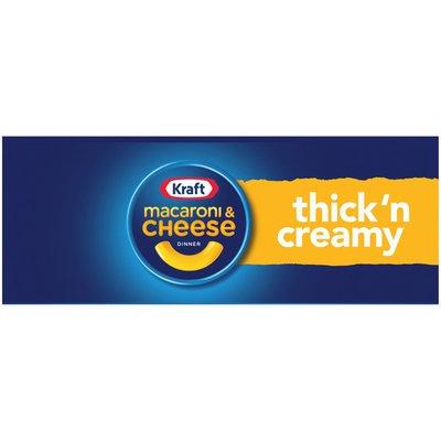 Kraft Thick 'n Creamy Macaroni & Cheese Dinner