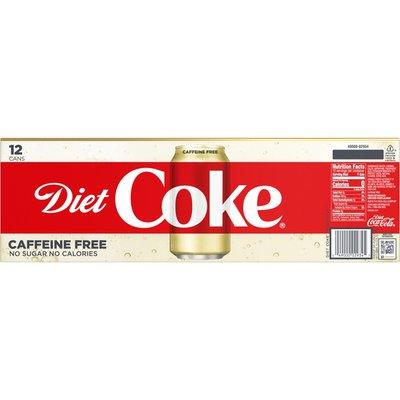 Coca-Cola Diet Coke Caffeine Free - 12 PK