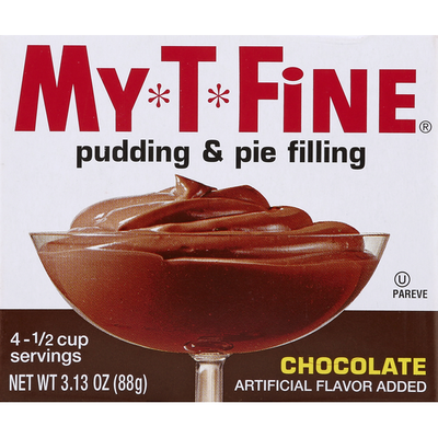 My-T-Fine Pudding & Pie Filling, Chocolate